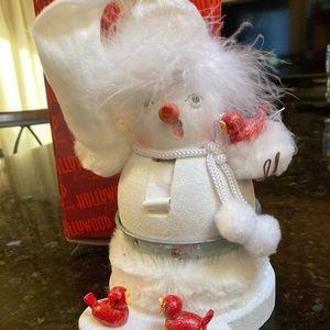 holiday Hollywood Kurt Adler snowman nutcracker